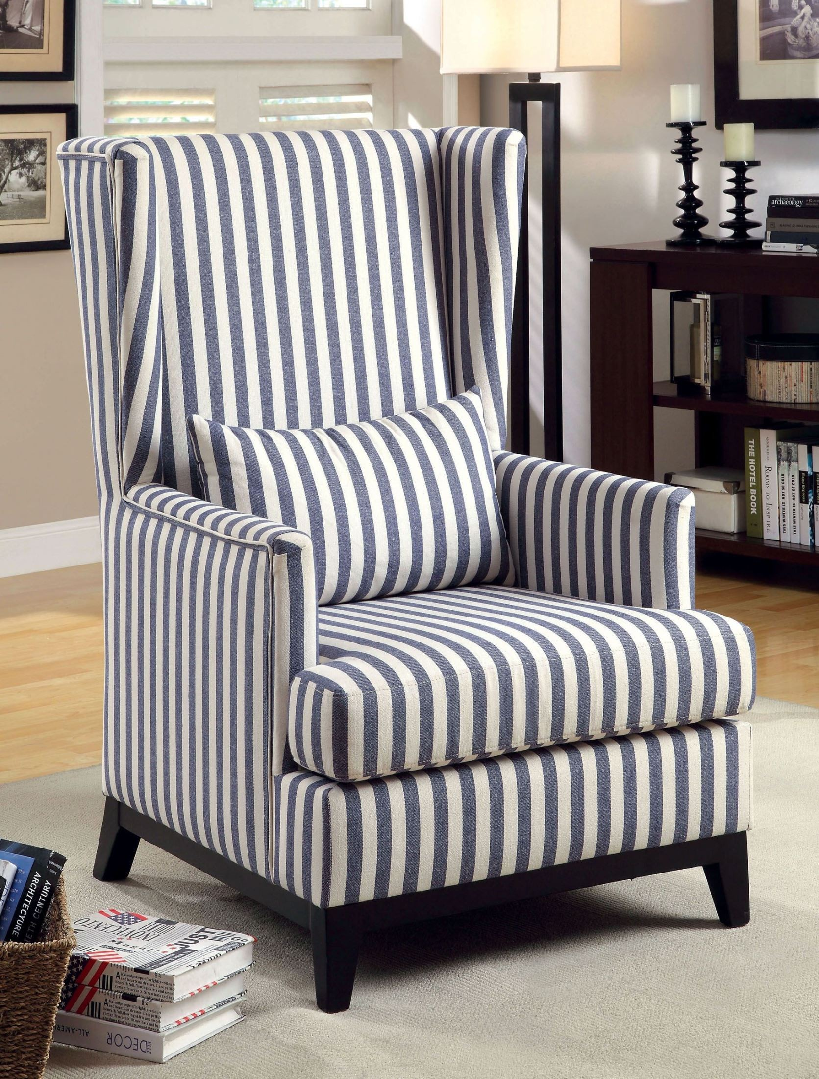fabrics for chairs striped raynor ergo elite chair with headrest me22erglt stafa stripe flax fabric accent from furniture of