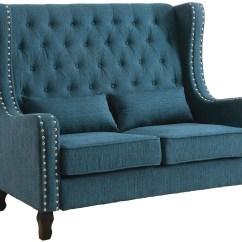Dark Teal Chair Indoor Outdoor Rocking Cushions Alicante Loveseat Bench Cm Bn6449tl Pk