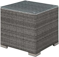 Somani Gray and Ivory End Table from Furniture of America ...