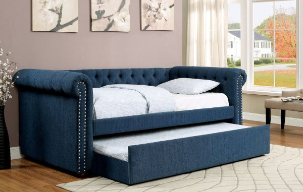 Teal Daybed with Trundle Bed