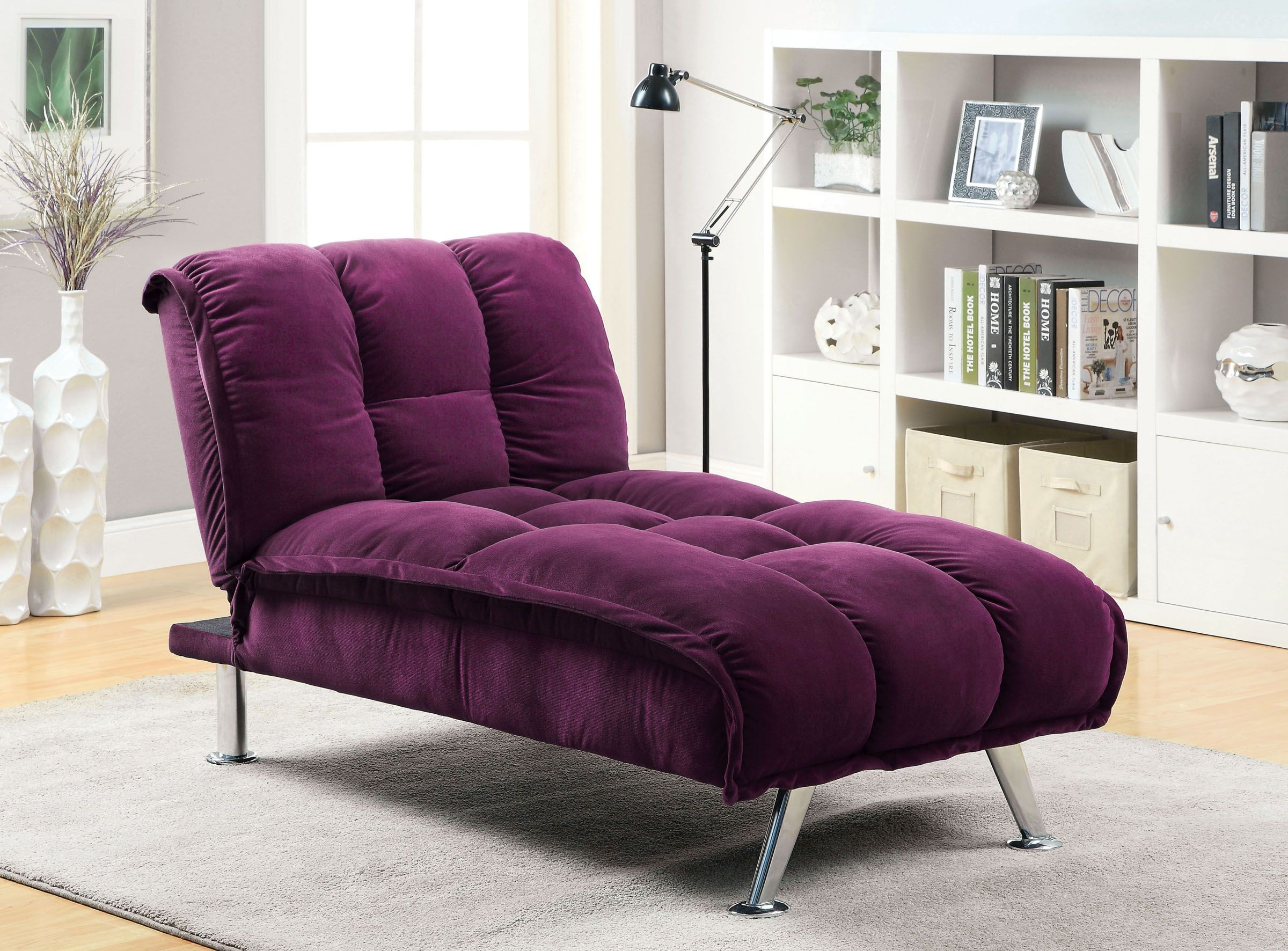 purple living room chair big lots bean bag chairs maybelle set cm2908pr furniture of