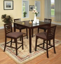 Eaton II 5 Piece Counter Height Table Set from Furniture ...