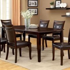 Cherry Dining Room Chairs X Rocker Octane Pedestal Gaming Chair Woodside Dark Rectangular Extendable Leg
