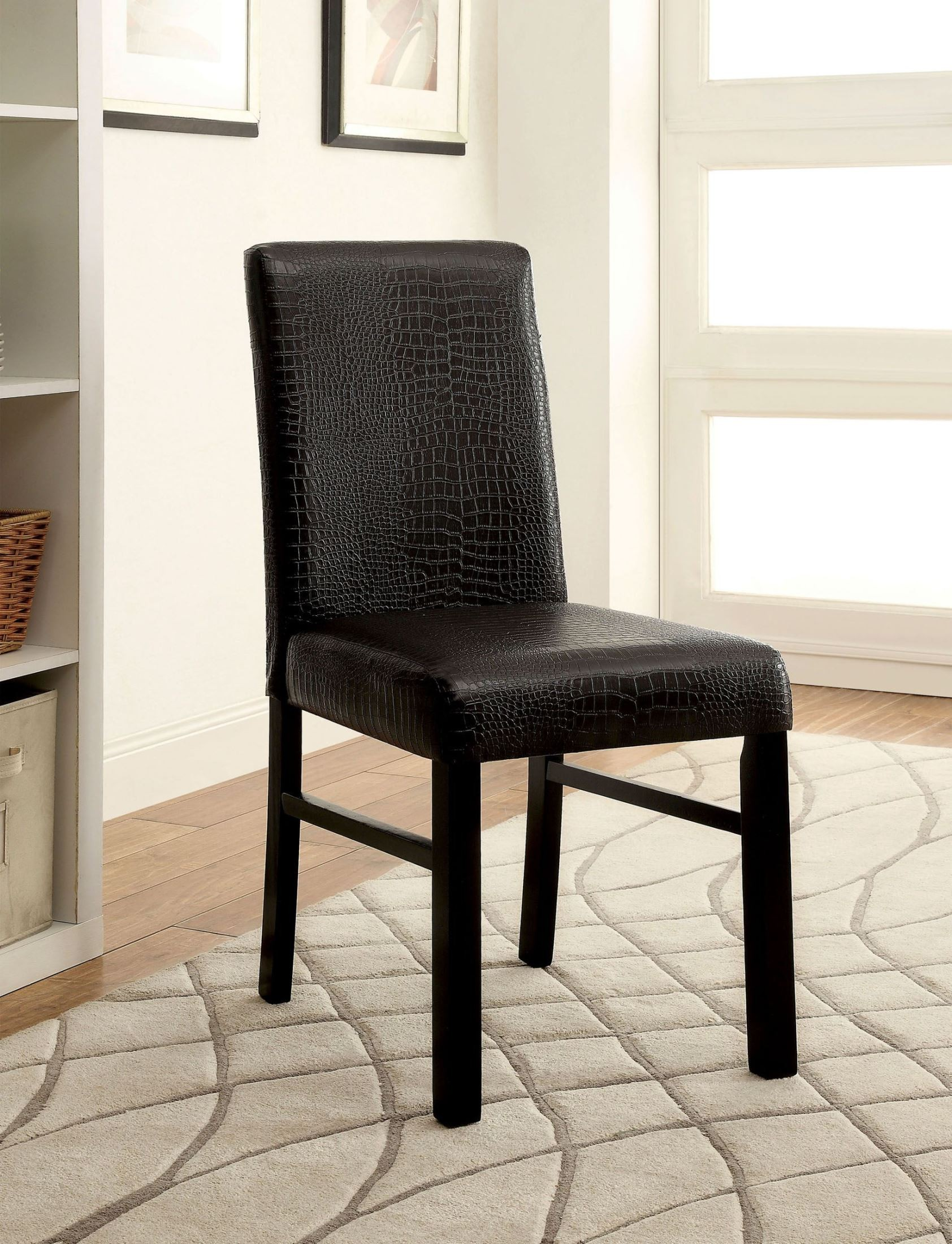black side chair wedding covers glasgow rockham i set of 2 from furniture