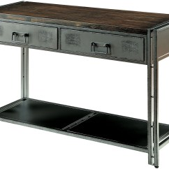 Renate Gray Sofa Table Taylor Sectional And Ottoman Costco Thurles From Furniture Of America