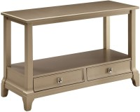Letitia Silver Sofa Table from Furniture of America ...