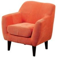 Heidi Orange Kids Chair from Furniture of America ...