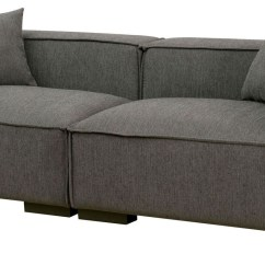 Gray Fabric Sofa Set How To Clean A Bed Langdon From Furniture Of America