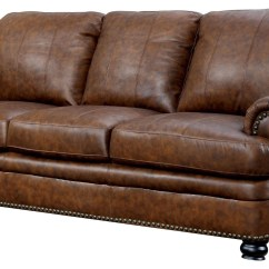 Montclair Top Grain Leather Sofa And Loveseat Set Anatolia Convertible Futon Bed With Storage Rheinhardt Living Room From