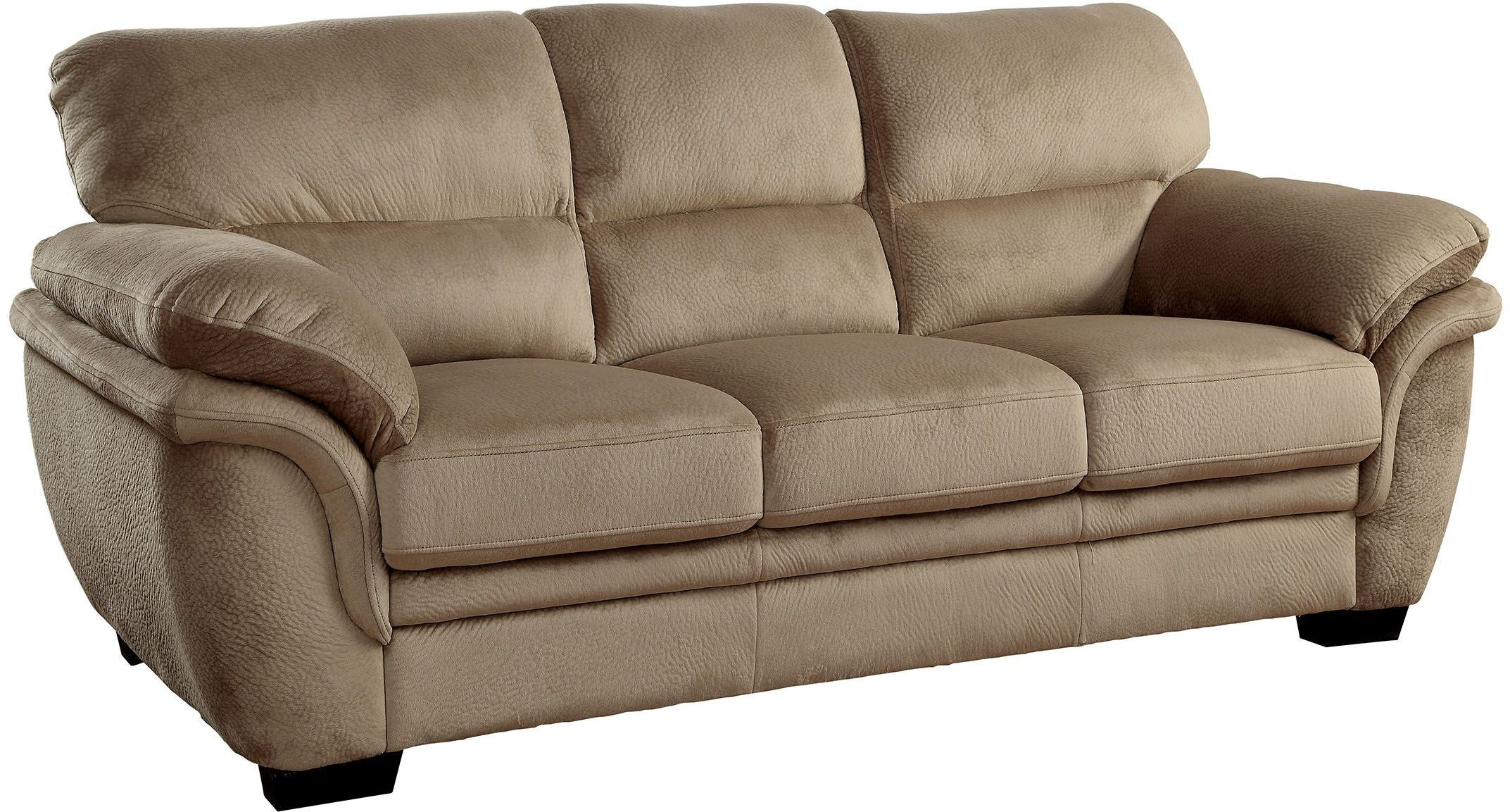 light brown sofa cheap two seater fabric jaya from furniture of america coleman