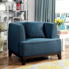 Dark Teal Chair Folding Giant Sofia Living Room Set From Furniture Of America
