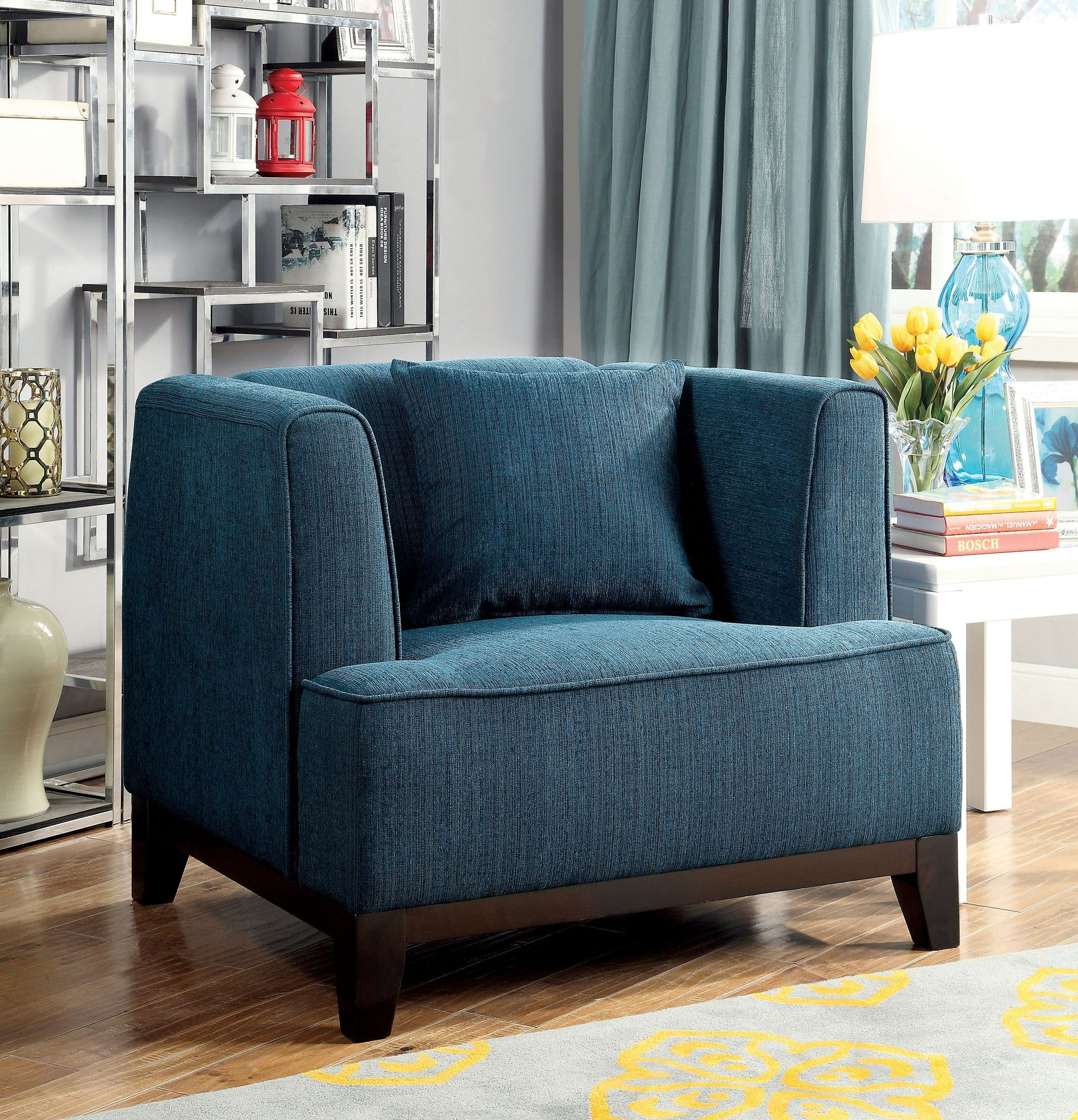 cheap teal sofas top grain leather recliner sofa sofia dark living room set from furniture of america