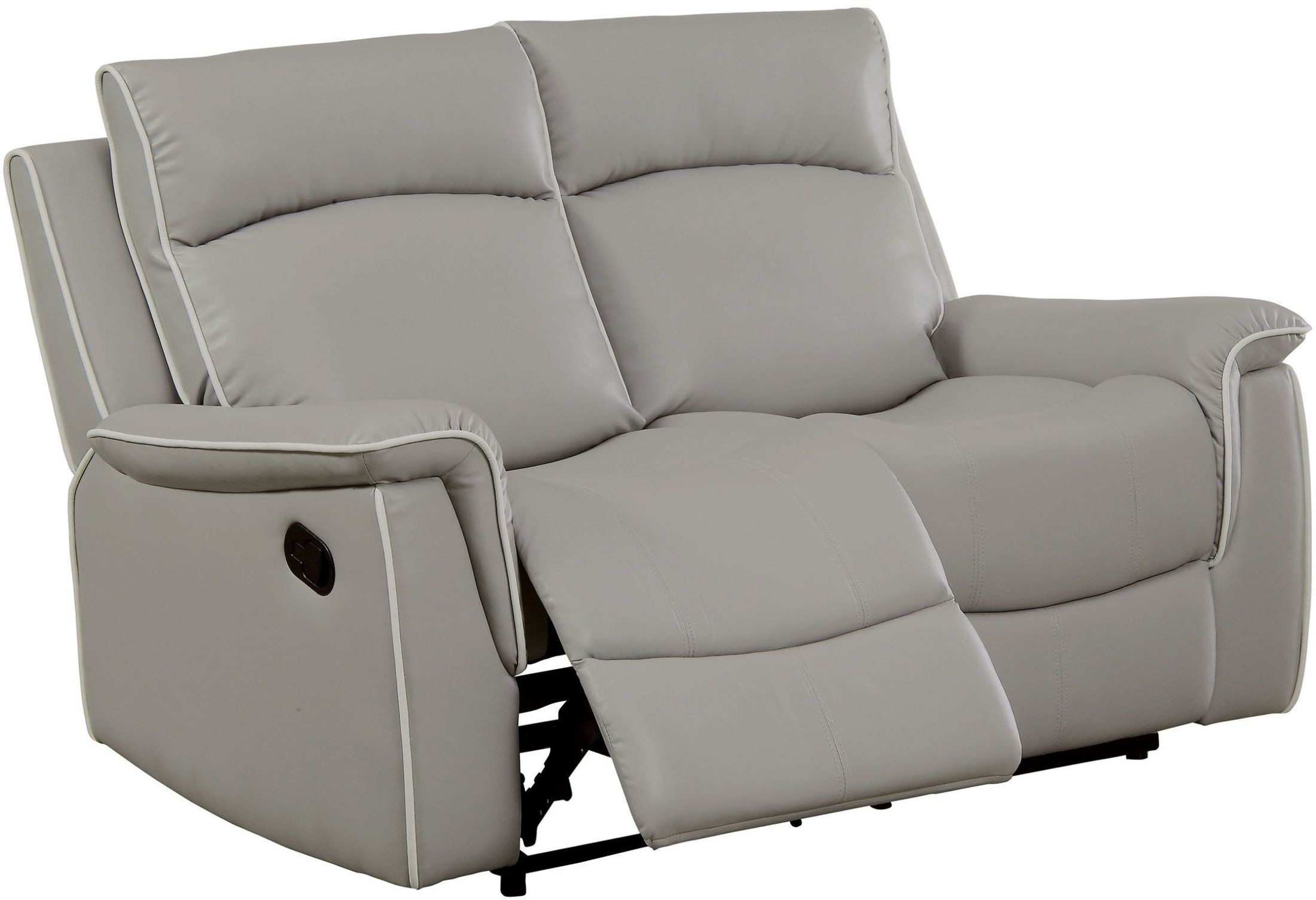 Gray Recliner Chair Salome Light Gray Recliner Loveseat From Furniture Of