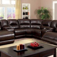 Sofa Glasgow Sleeper Big Lots 7 Piece 2 Reclining Console Sectional From