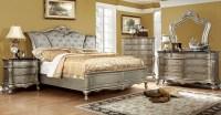 Johara Gold Upholstered Bedroom Set from Furniture of ...