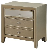 Briella Silver Nightstand from Furniture of America ...