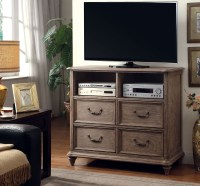 Belgrade I Rustic Natural Tone Platform Storage Bedroom ...