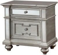 Salamanca Silver Nightstand from Furniture of America ...