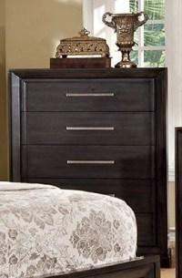 Bradley Dark Gray Bedroom Set, CM7780Q, Furniture of America