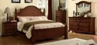 Palm Coast Light Walnut Panel Bedroom Set from Furniture ...