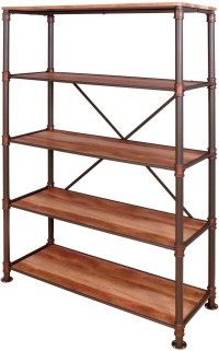 Pippa Industrial Display Shelf from Furniture of America ...