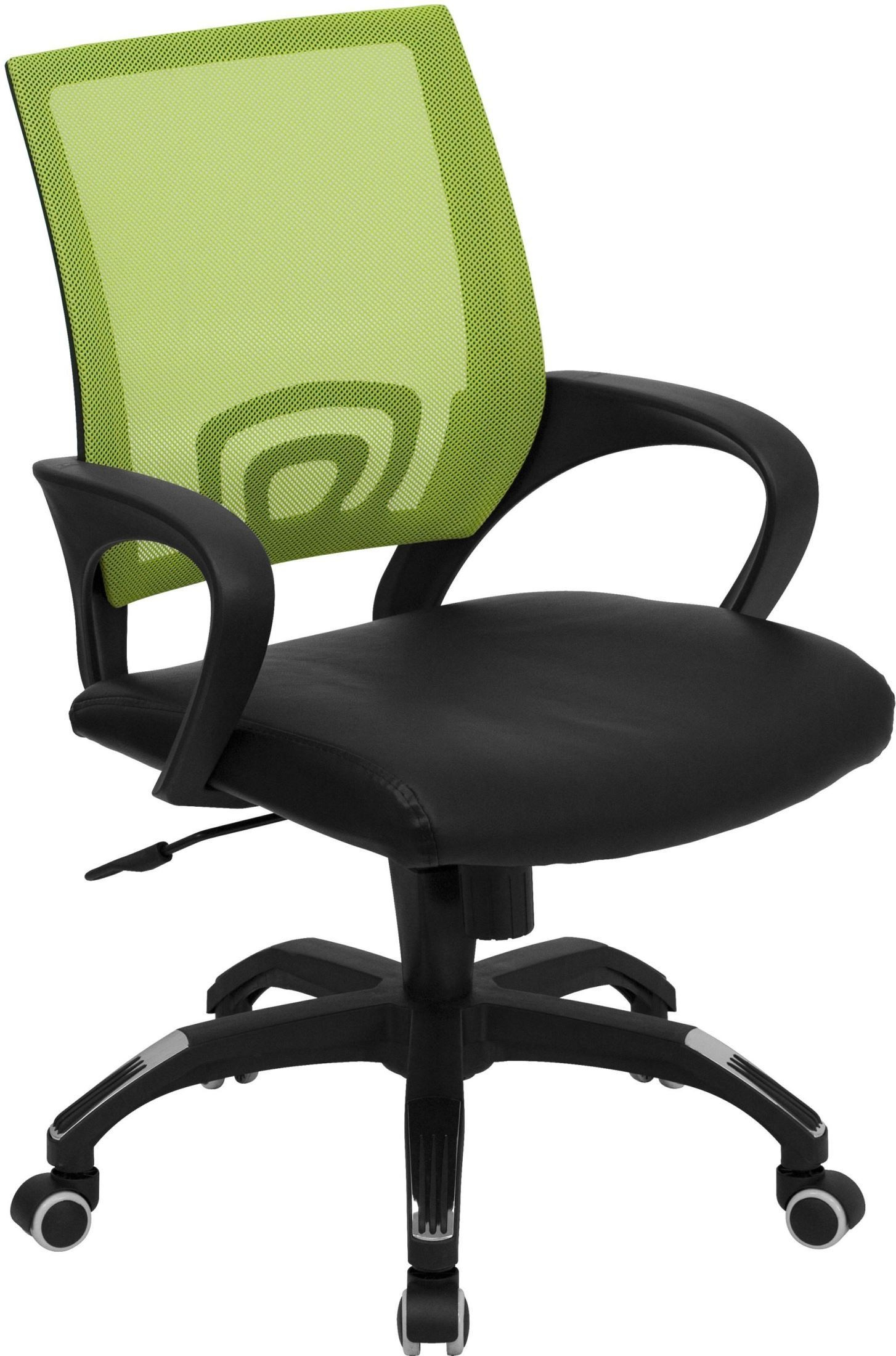 Green Computer Chair Mid Back Green Computer Chair With Black Seat Cp B176a01