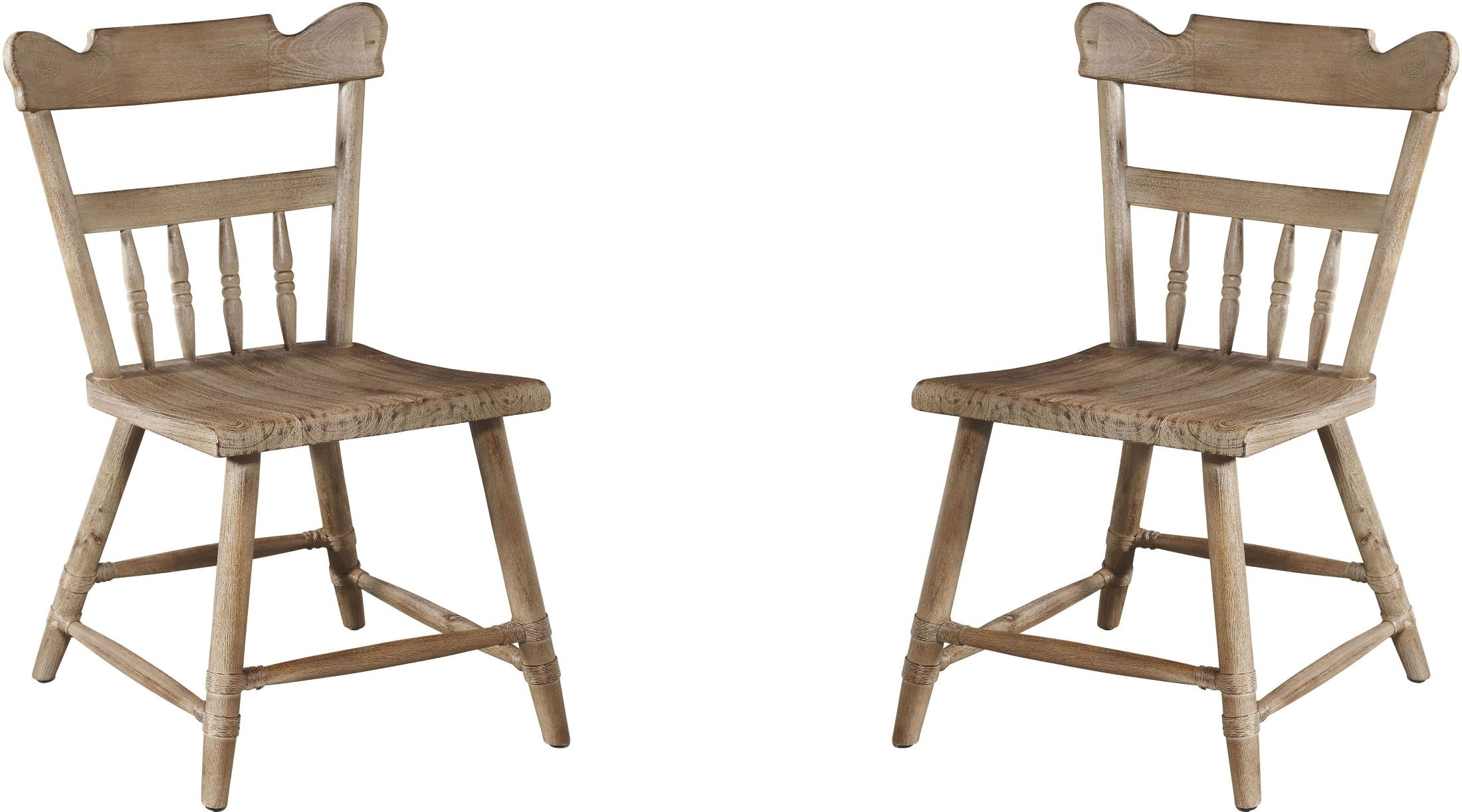 Beach Dining Chairs Crown Barnyard Dark Beach Dining Chair Set Of 2 From