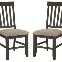 Cream Upholstered Dining Chairs Eames Soft Pad Chair Dresbar Side Set Of 2 From