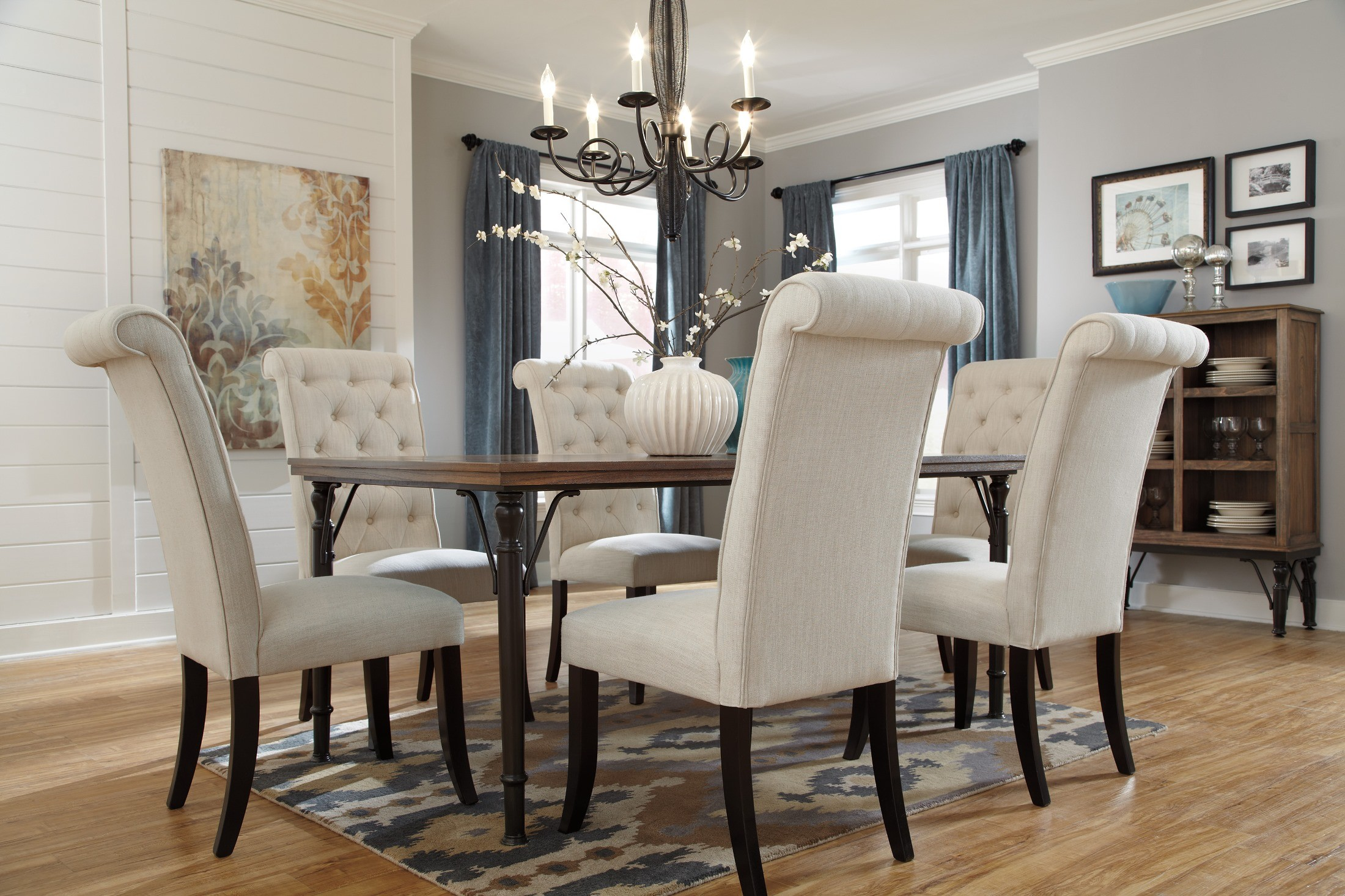 Tripton Dining Upholstered Side Chair Set of 2 from Ashley