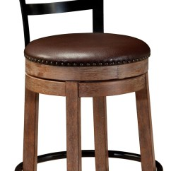 Swivel Bar Chairs Best Desk Chair For Sciatica Pinnadel Upholstered Counter Stool From Ashley