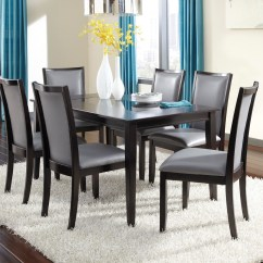 Gray Upholstered Dining Chairs Vinyl Chair Repair Kit Trishelle Side Set Of 2 From
