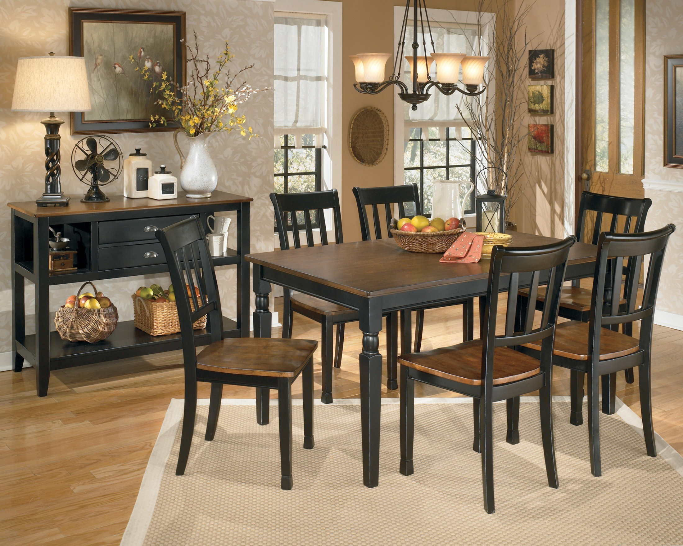 Owingsville Rectangular Dining Room Set from Ashley D580