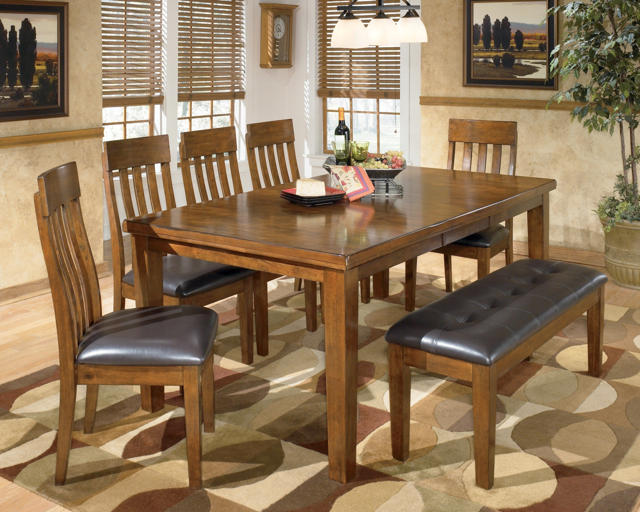 Ashley Dining Room Chairs Ralene Large Upholstered Dining Room Bench From Ashley