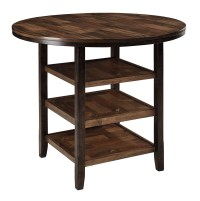 Moriann Round Counter Height Dining Room Table from Ashley ...
