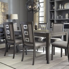 Dining Room Sets 6 Chairs The Love Chair Chadoni Gray Rectangular Extendable Set From Ashley Coleman Furniture