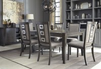 Chadoni Gray Rectangular Extendable Dining Room Set from ...
