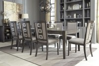 Chadoni Gray Rectangular Extendable Dining Room Set, D624 ...