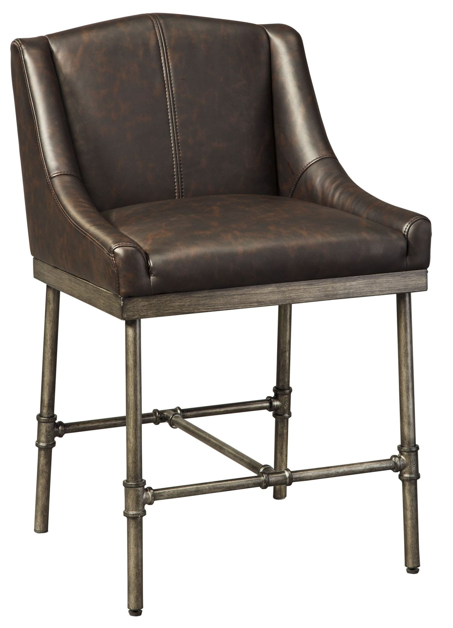 upholstered counter chairs posture care chair cost starmore brown stool set of 2 d633