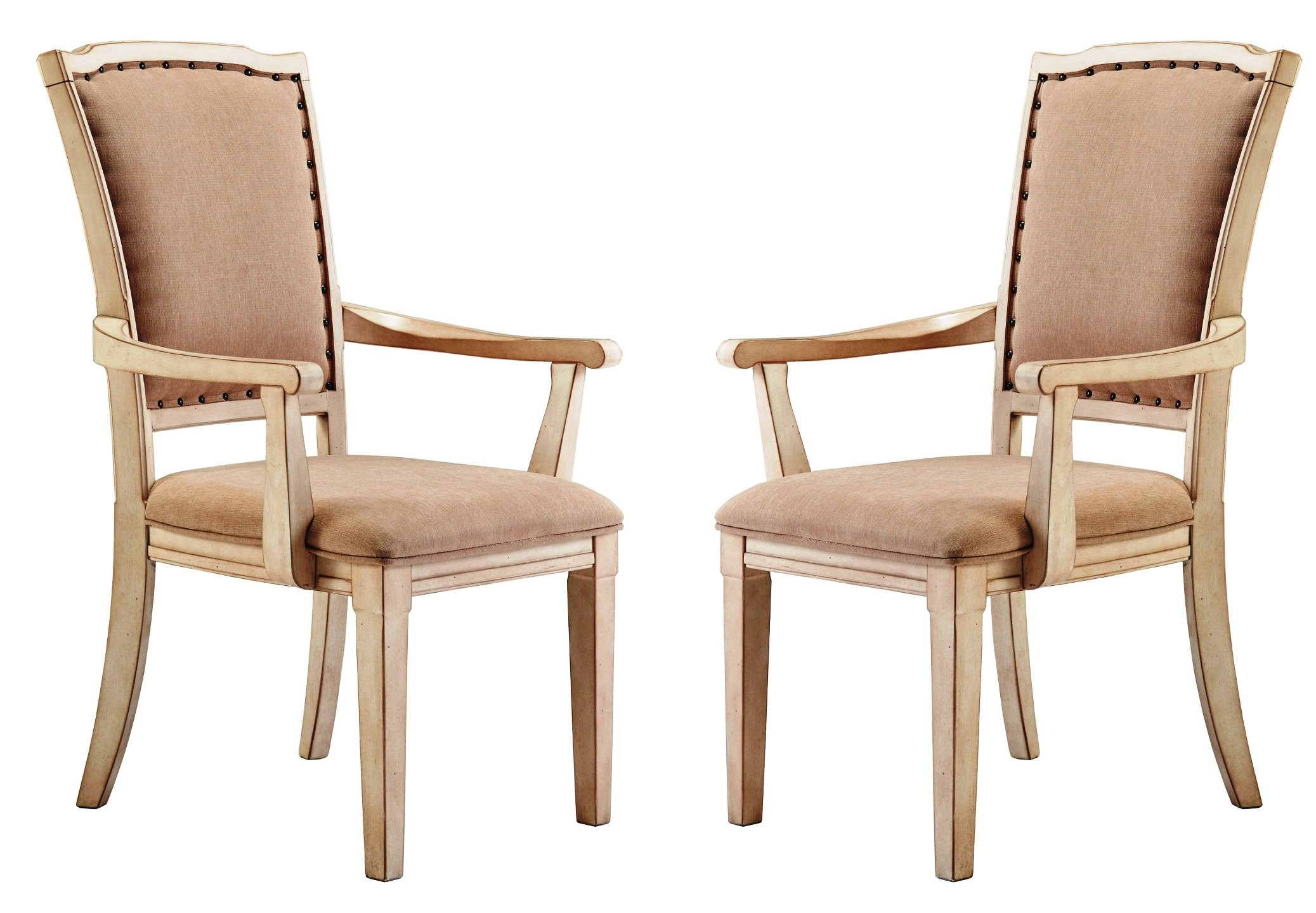 Demarlos Dining Upholstered Arm Chair Set of 2 D69301A
