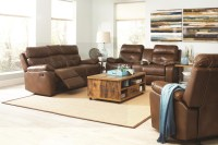 Damiano Faux Leather Reclining Living Room Set from ...
