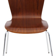 Bentwood Dining Chair Cheap Wedding Covers Stackable Walnut From Lumisource Dc