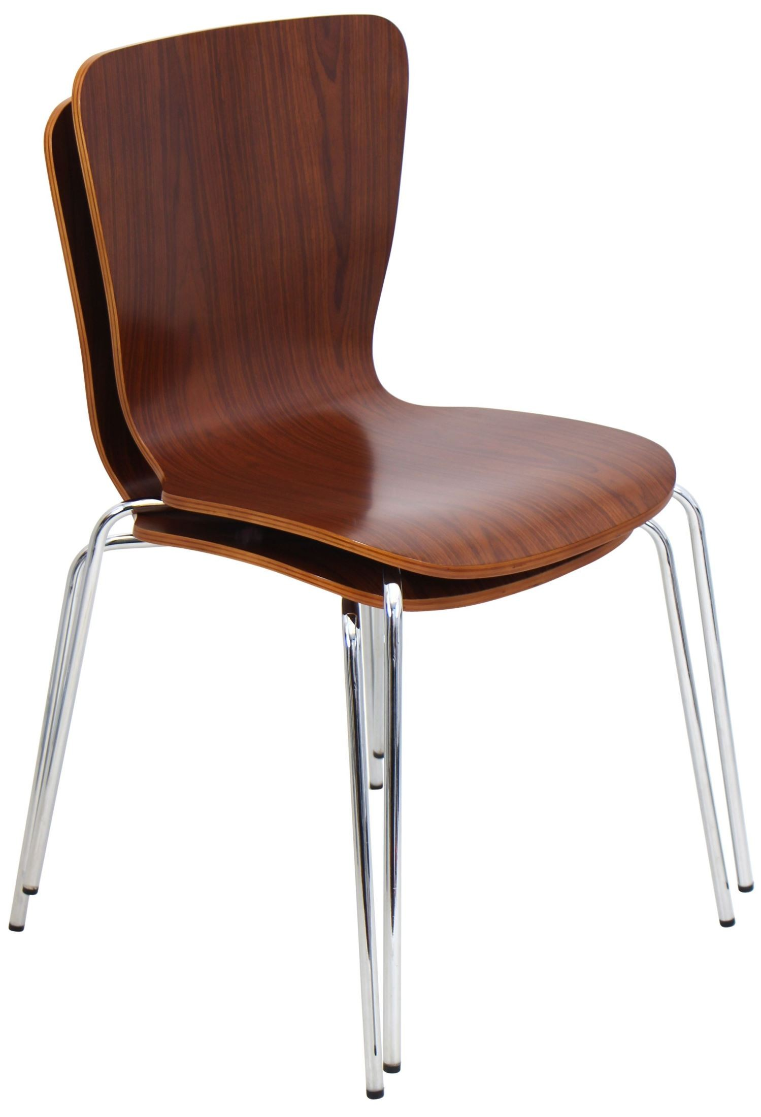 bentwood dining chair office under 100 stackable walnut from lumisource dc