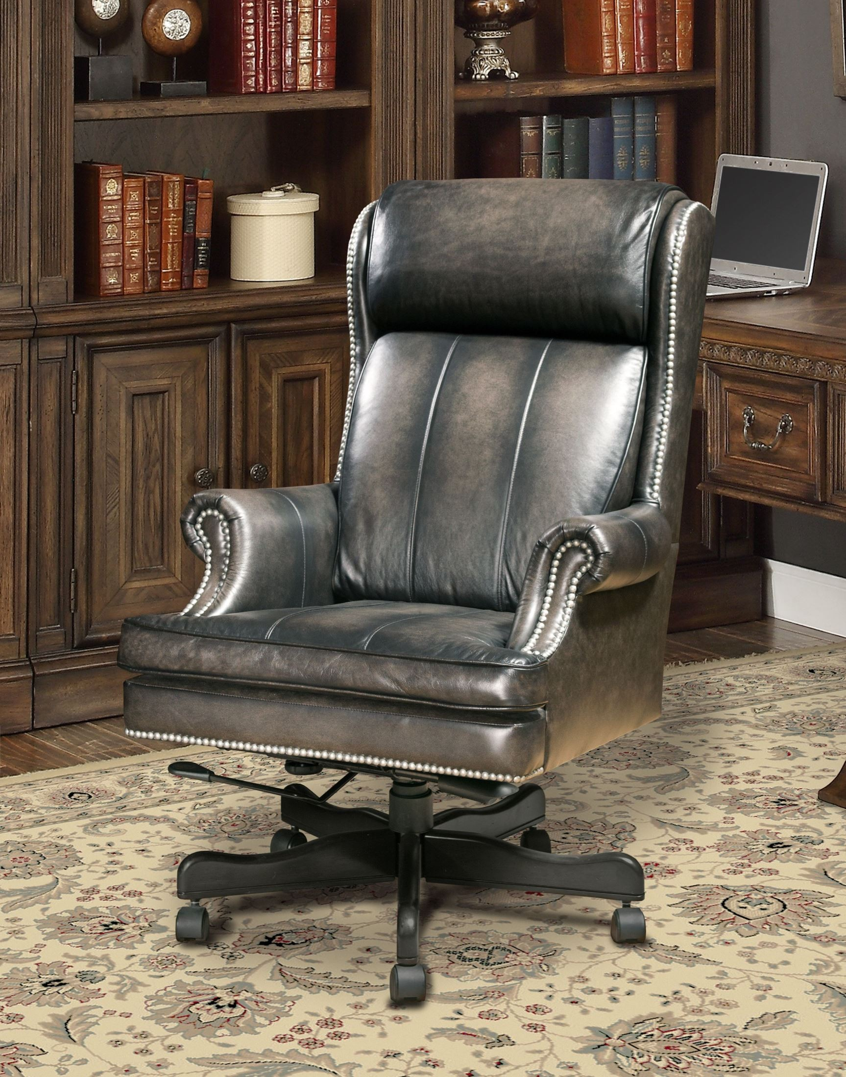 swivel chair price philippines tullsta cover smoke wipe leather desk from parker living coleman