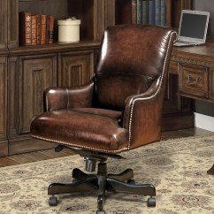 Brown Computer Chair Swing Hire Leather Desk From Parker Living Dc 106 Br