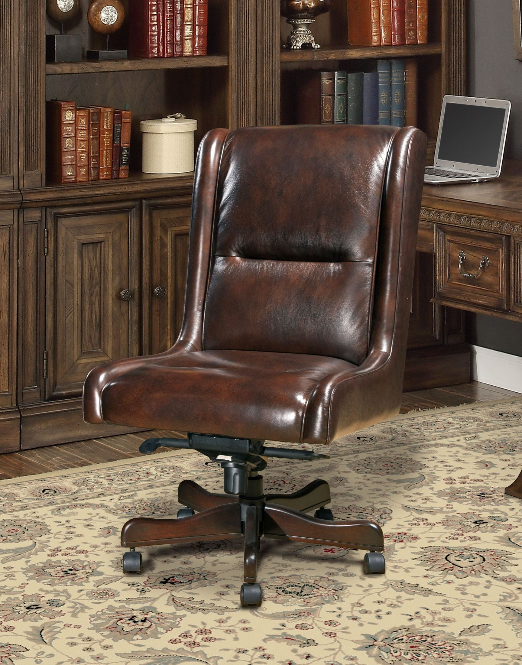 leather cigar chair cheap outdoor chairs desk pah dc 108 ci parker house