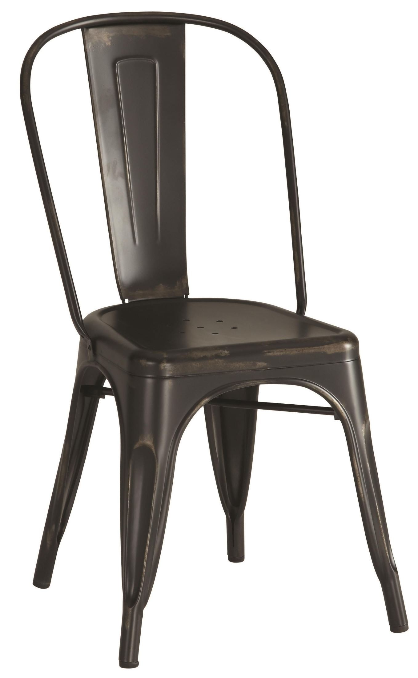Black Metal Dining Chairs Bellevue Black Metal Dining Chair Set Of 4 From Coaster