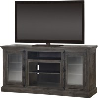Ashton Gray Media Console from Dimplex | Coleman Furniture