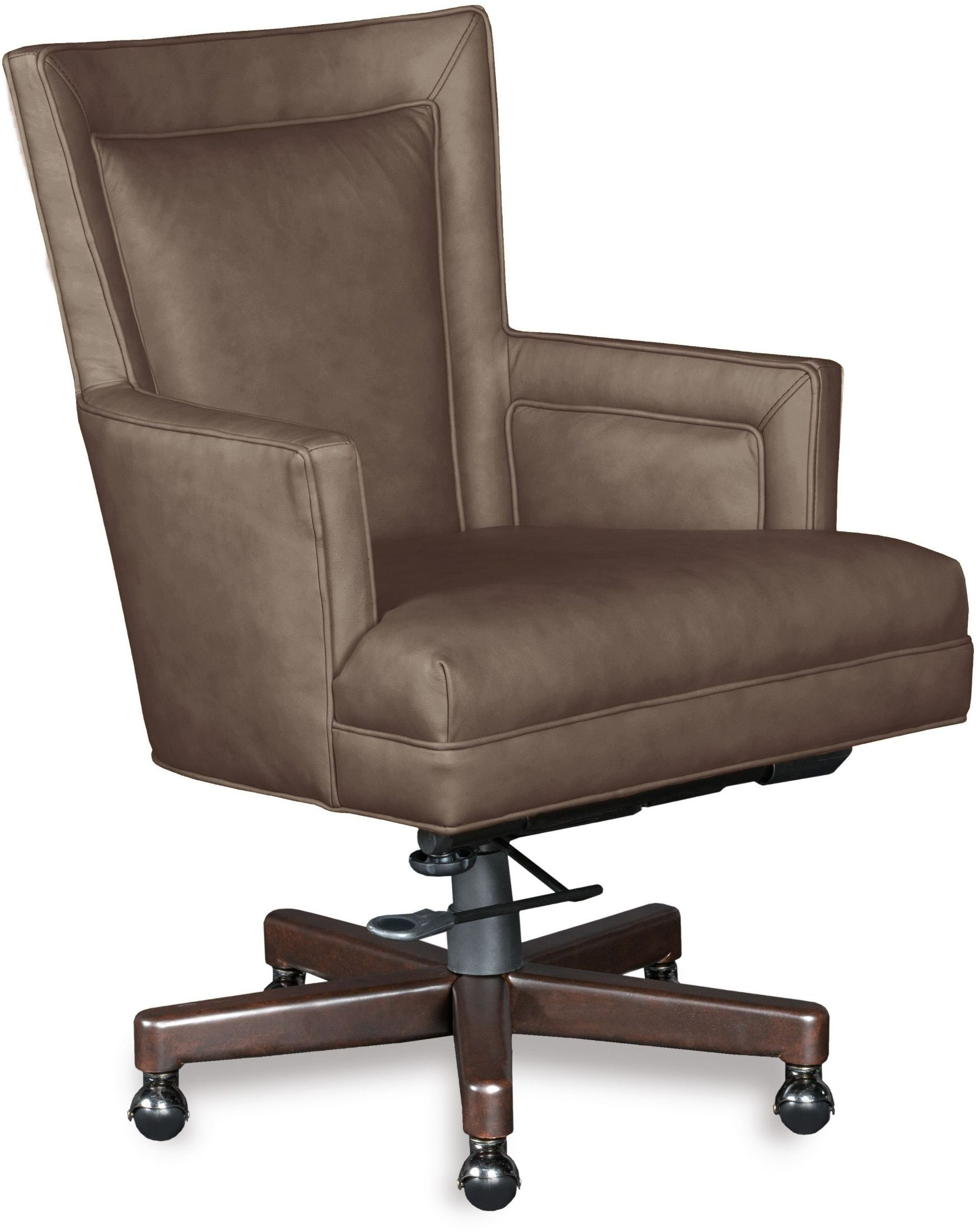 maroon office chairs wicker bar rosa beige leather home chair from hooker coleman