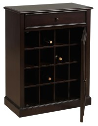 DS-2188-304 Dark Wood Wine Cabinet from Prime Resource ...