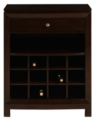 DS-2190-304 Dark Wood Wine Cabinet from Prime Resource ...